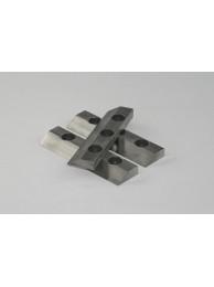 Комплект режущих пластин 3 шт из стали 1.1740 для параллельно-секционного ротора для измельчения без намола тяж. металлов,Retsch (Кат № 22.151.0006)