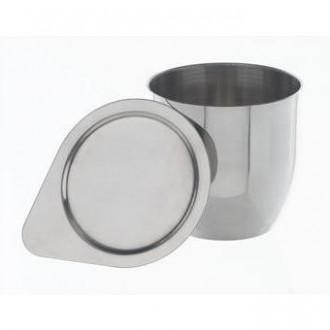Тигель и крышка, никель 99,6%, H=30 D=30 15 мл. тип 2 (8122)