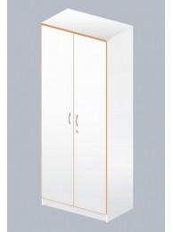 Стеллаж Лаб-Ом-02 с 2 дверками (меламин, 800х485х1960)