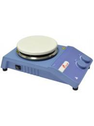 Мешалка магнитная с подогревом ULAB US-1500A (0-1500 об/мин; 340°C; аналог.управл; Ø 135 мм)