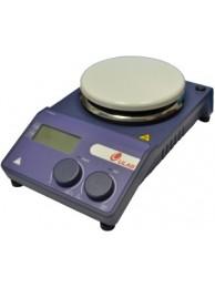 Мешалка магнитная с подогревом ULAB US-1500D (0-1500 об/мин; 340°C; цифр. управл; Ø 135 мм)