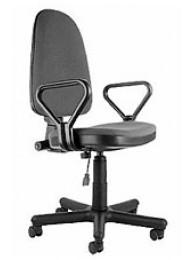 Кресло Престиж, обивка - ткань (цвет черный)