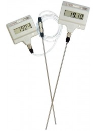 Лабораторный электронный термометр ЛТ-300 (−50…+300 oС), датчик из нерж. стали L=250 мм