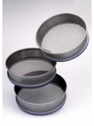 Сито лабораторное металлическое Retsch, 100х40 мм, ячейка 106 мкм, НС с плетеной ПС, ASTM E 11 (Кат. № 60.108.000106)