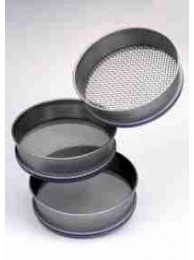 Сито лабораторное металлическое Retsch, 100х40 мм, ячейка 10.00 мм, НС с плетеной ПС, ISO 3310/1 (Кат. № 60.106.010000)