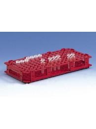 Штатив для 128 микроцентрифужных пробирок, диам. до 11 мм, белая, пластиковая PP (3197940) (Vitlab)