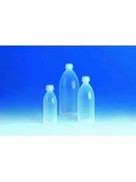 Бутылка узкогорлая, 500 мл, пластиковая PFA-economy, с завинчивающейся крышкой ETFE (108392) (Vitlab)