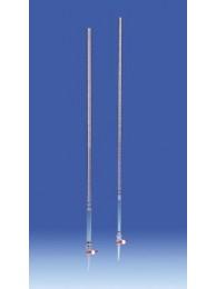 Бюретка  боросиликатное стекло, 50 мл, с черной градуировкой, класс B. (105699) (Vitlab)