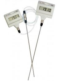 Лабораторный электронный термометр ЛТ-300 (−50…+300 oС), датчик из титана L=250 мм