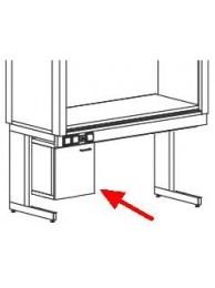 Подвесная тумба малая под шкафы ШВД/ШВУ/ШВМУ б/вытяж. ТНшву (металл)