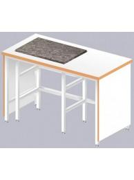 Стол для весов ЛАБ-1200 ВГ (Ламинат/Гранит 60 мм)