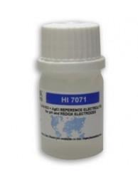 Электролит для электродов HANNA HI 7071P (с одиночной диафрагмой), раствор 3,5M KCl + AgCl, 4х30 мл