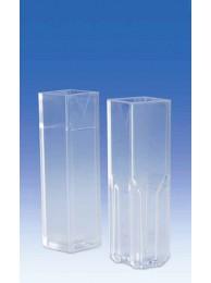 Полу-микрокювета, PММА, 1,5 - 3,0 мл, одноразовая, Vitlab (146499)