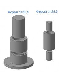 Формы для изготовления контрольных образцов ФМП (комплект)