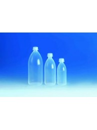 Бутылка узкогорлая, 500 мл, пластиковая PFA, с завинчивающейся крышкой PFA (108397) (Vitlab)